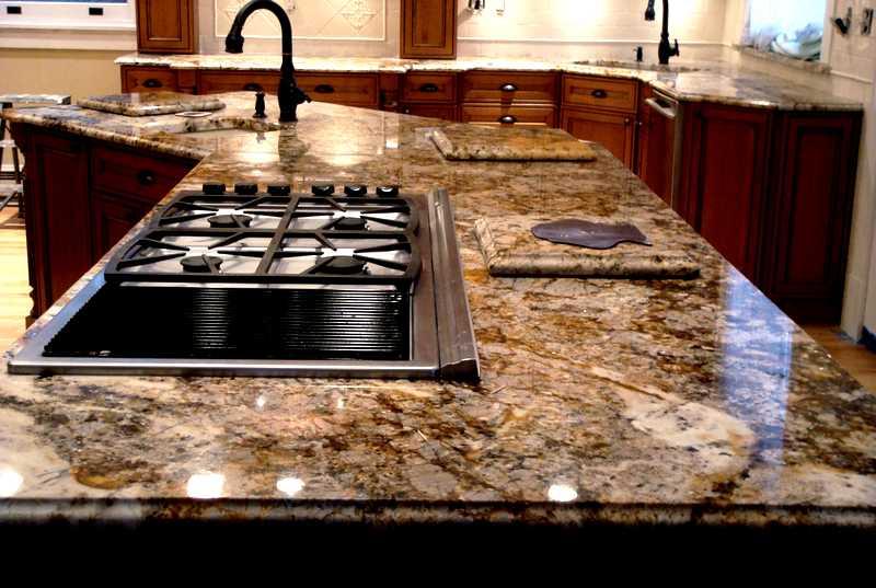 Encimeras lacocina for Barra de granito para cocina precio